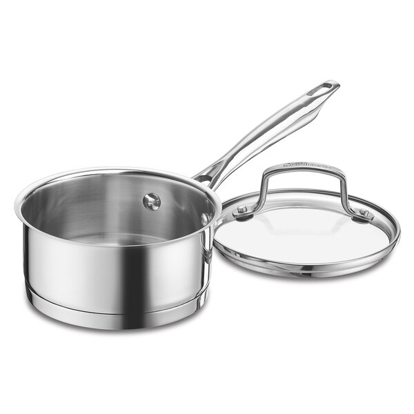 Professional Series Stainless Steel Sauce Pan with Lid by Cuisinart