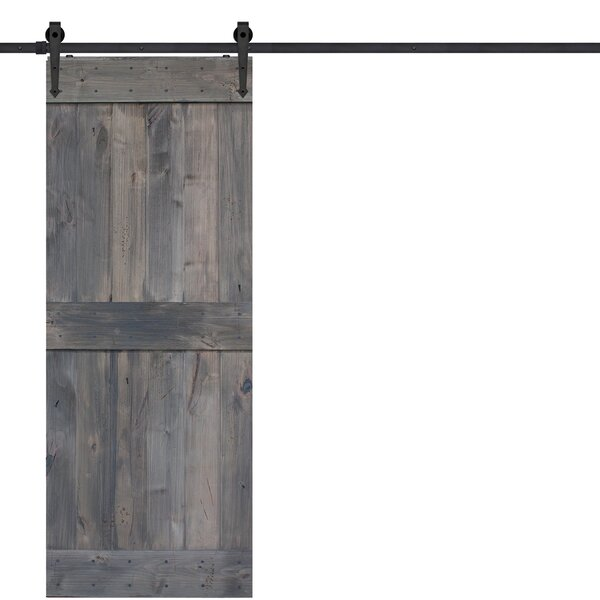 Barnwood panelled wood  Interior Barn Door by Barndoorz
