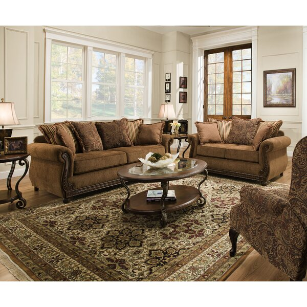 Bridgette Configurable Living Room Set by Fleur De