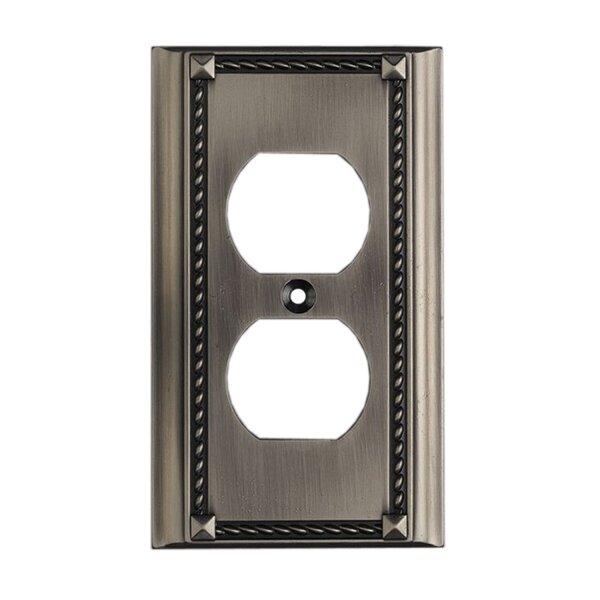 Clickplates Single Socket Plate in Antique Platinum by Elk Lighting