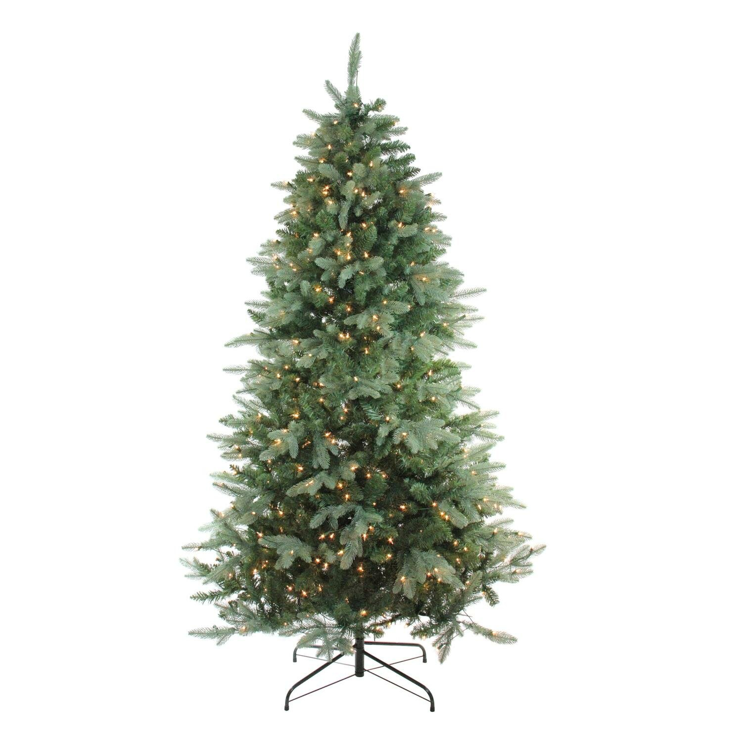 Northlight 6 5 X 47 Pre Lit Washington Frasier Fir Full Artificial Christmas Tree Clear Lights Wayfair