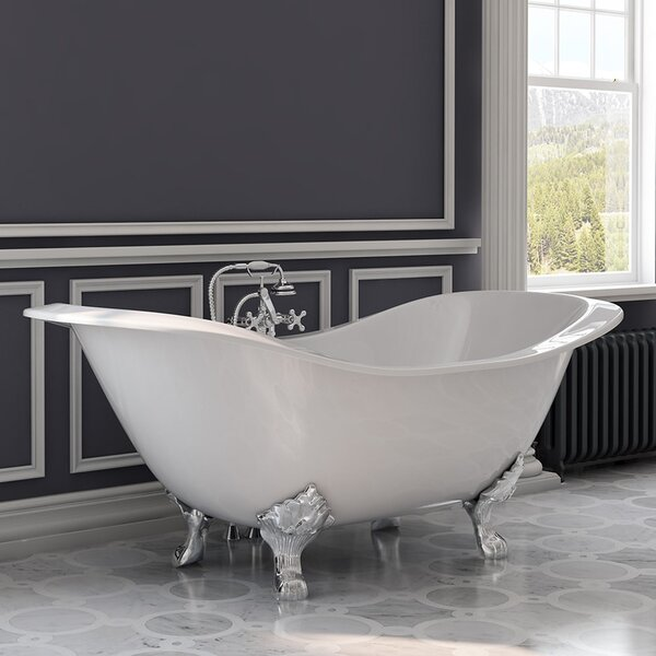 71 x 30 Clawfoot Bathtub by Cambridge Plumbing