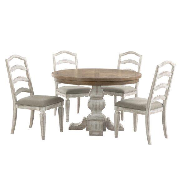 Mcgraw 5 Piece Extendable Dining Set by One Allium Way One Allium Way