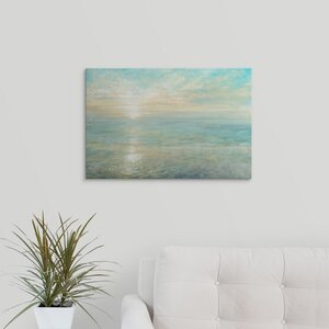 Sunrise by Danhui Nai Painting Print on Wrapped Canvas by Great Big Canvas