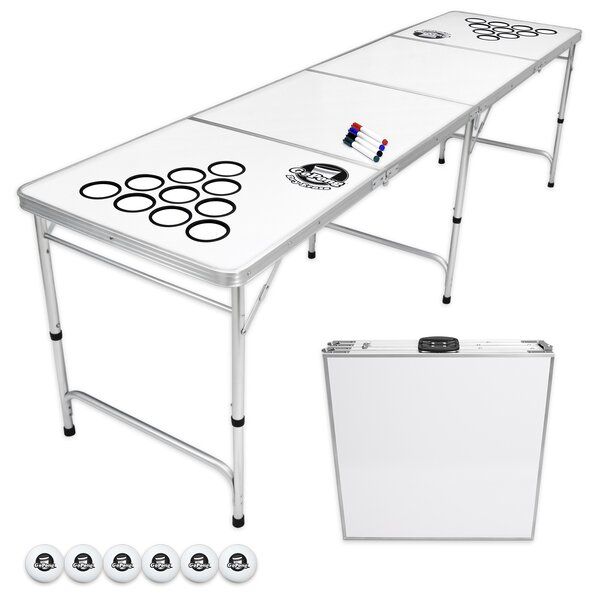 10 Piece Dry Erase Beer Pong Set By Gopong.
