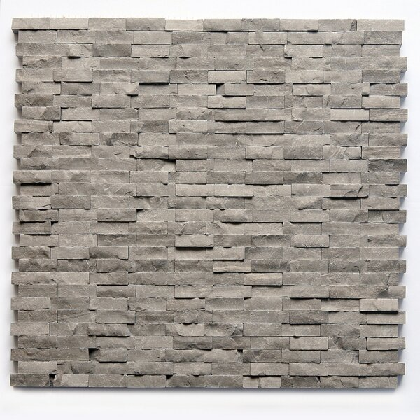 0.5 x 0.75 Marble Mosaic Tile in Haisa Dark by Solistone