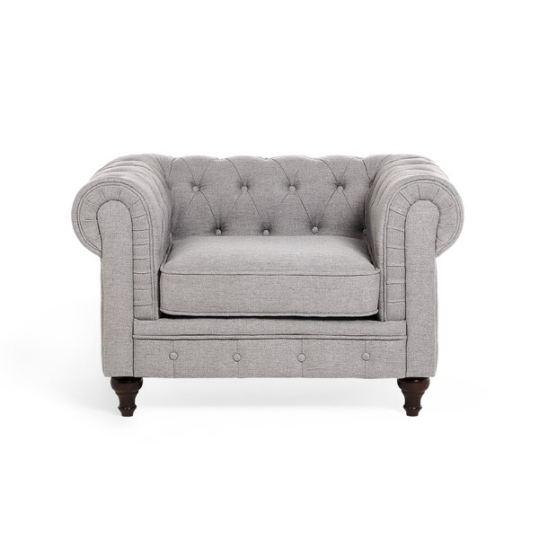 Brookdale Chesterfield Chair by Rosdorf Park