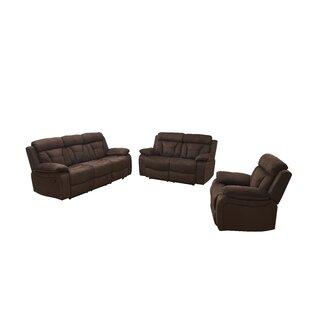 Contrast Reclining Configurable Living Room Set by Red Barrel Studio®
