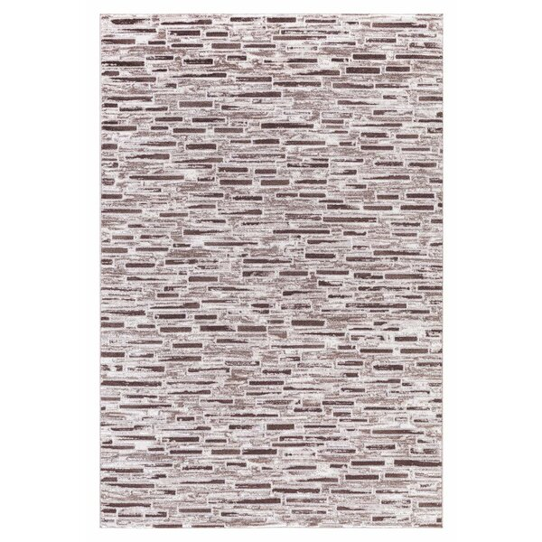 Taksim Brown Area Rug by Persian-rugs