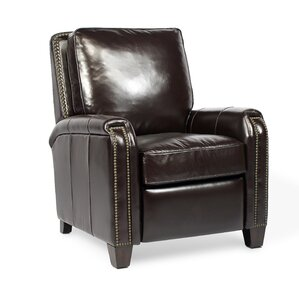 Beaumont Leather Manual Recliner by Palatial..