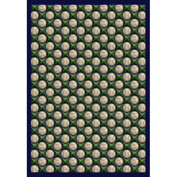 Green/Beige Area Rug by The Conestoga Trading Co.