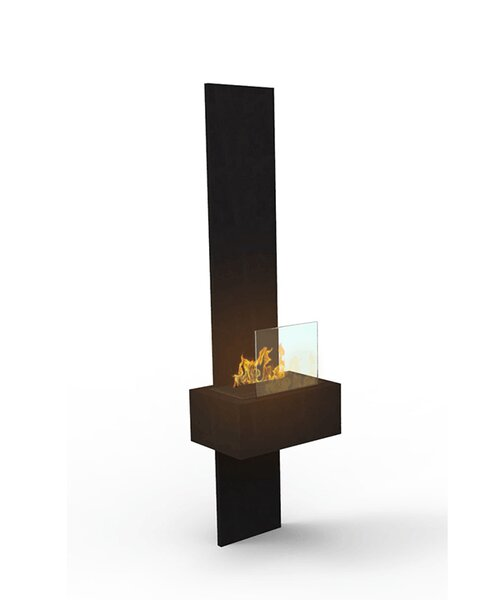 Glide Wall Mounted Electric Fireplace by Decorpro