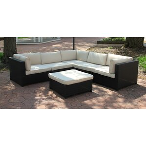 Beautiful Outdoor Furniture Sectional Sofa Set With Cushions