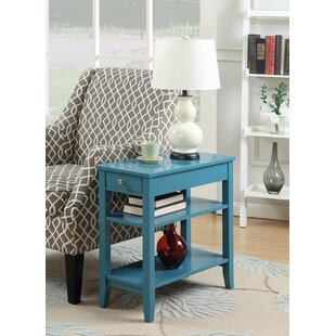 Buy luxury Dominique End Table by Winston Porter