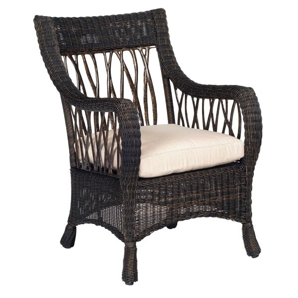 Serengeti Indoor/Outdoor Dining Chair Cushion in Vallejo by Woodard
