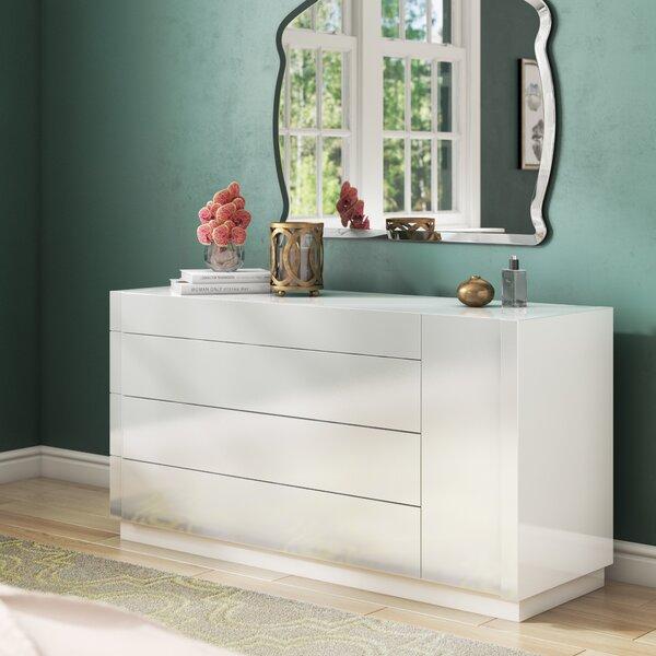 Brackenridge 4 Drawer Standard Dresser by Wade Logan