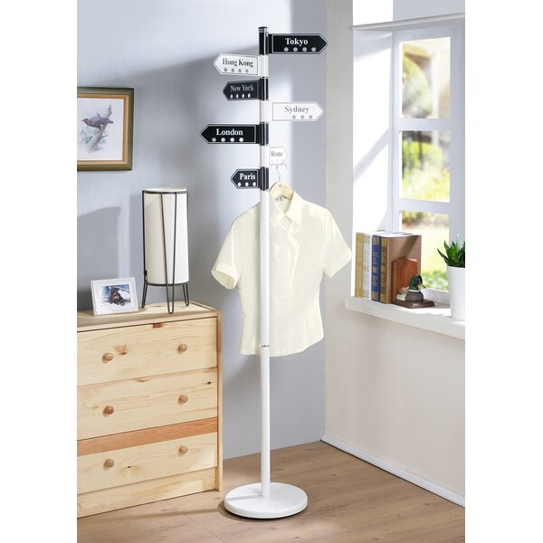 Metal Coat Rack by Ebern Designs