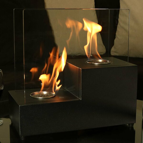 Passo Ventless Bio-Ethanol Tabletop Fireplace by Wildon Home ®