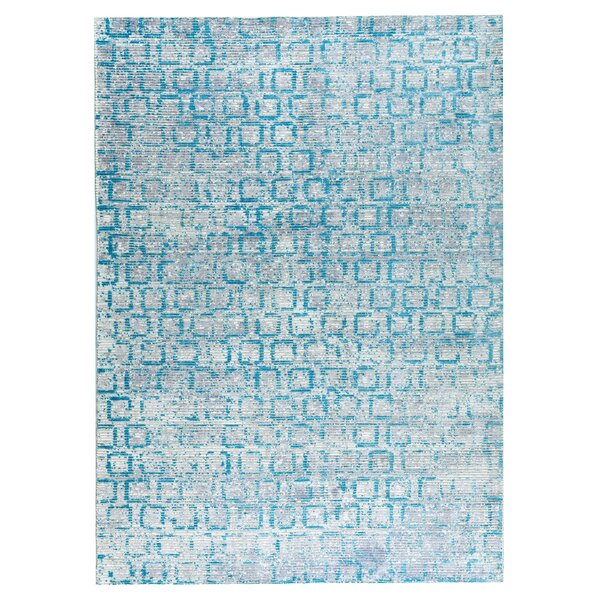 Tampa Hand-Woven Blue Area Rug by M.A. Trading