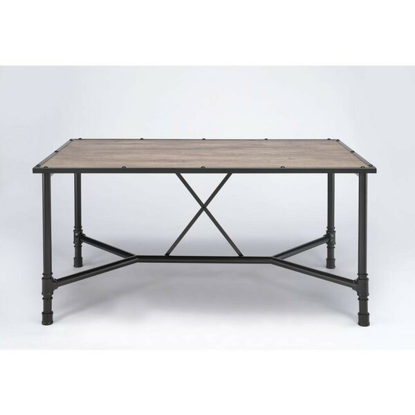 Camire Rectangular Solid Wood Dining Table W000883073