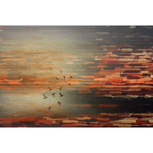 'Night Flight' by Parvez Taj Graphic Art Print on Wrapped Canvas by Union Rustic