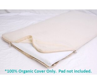 Look for All-in-One Cotton Changing Table Pad Coverlet By Moonlight Slumber