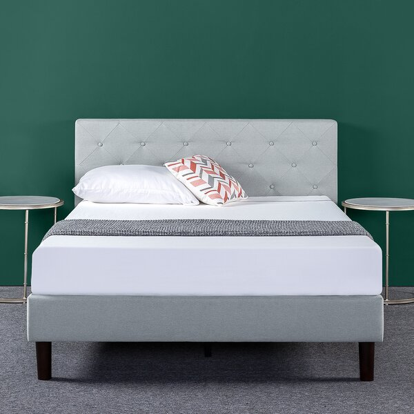 Agnese Upholstered Platform Bed by House of Hampton