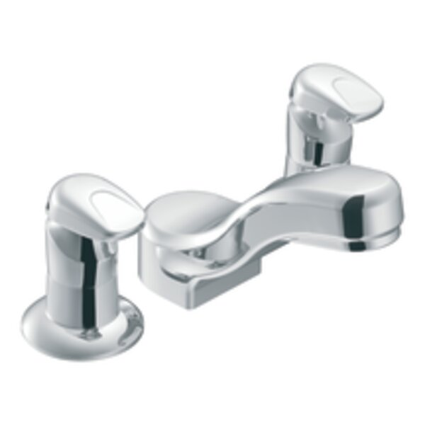 M-Press Widespread Bathroom Faucet by Moen