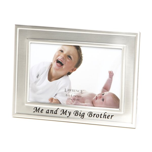 Steck Me and My Big Brother Picture Frame by Alcott Hill