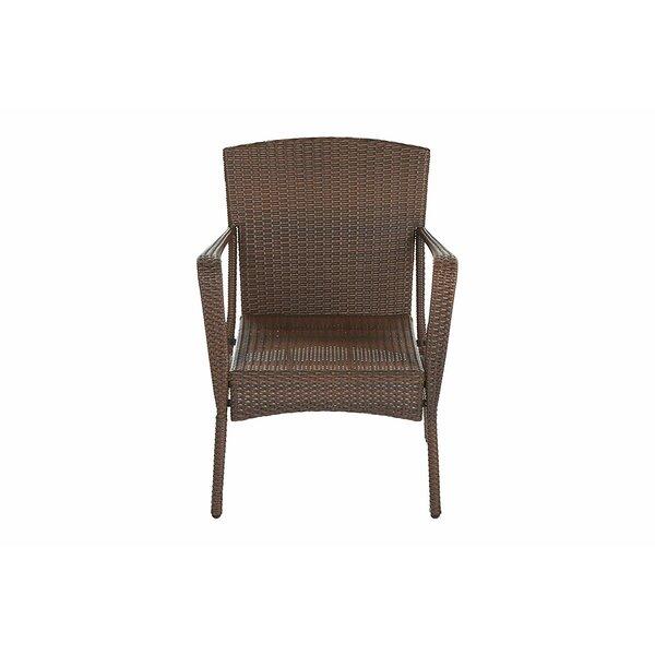 Rebbeca Outdoor Garden Patio Chair (Set of 2) by Ivy Bronx Ivy Bronx