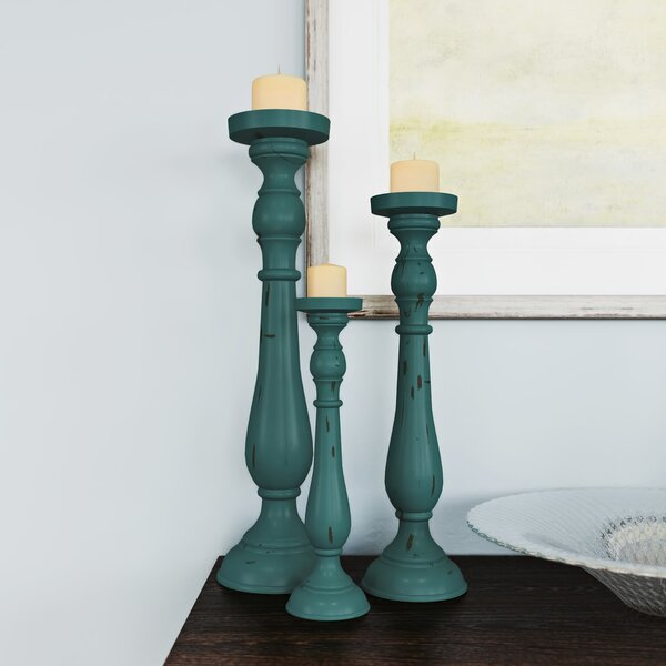 Pattesley 3 Piece Candlestick Set by Alcott Hill