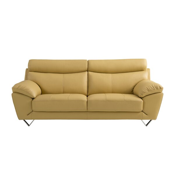 Best #1 Valencia Leather Sofa By American Eagle International Trading Inc. Comparison