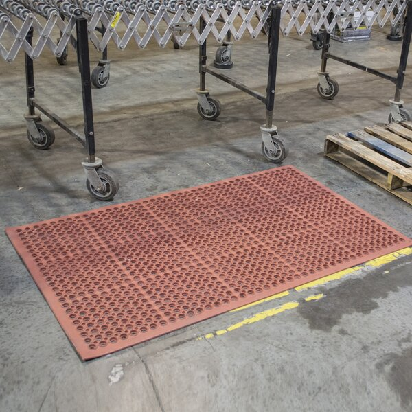 Industrial Rubber Floor Utility Mat by Symple Stuff