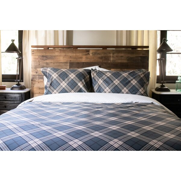 Pretor Plaid Reversible Duvet Cover Set
