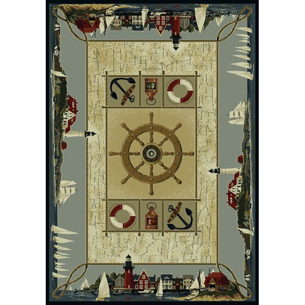Genesis Seascape Novelty Rug by United Weavers of America