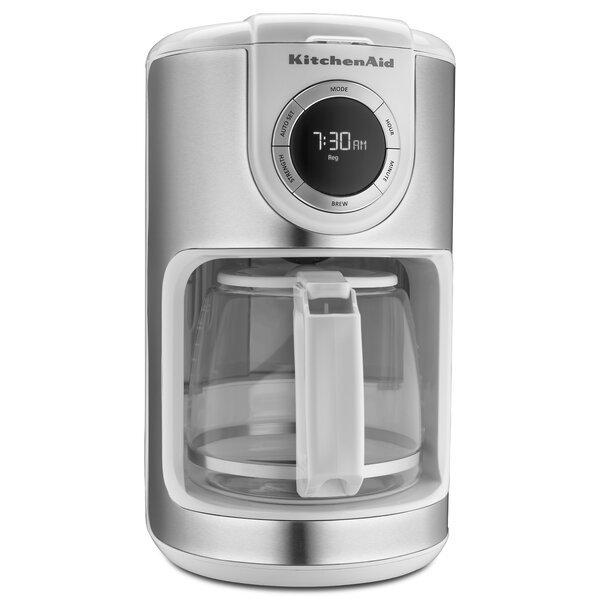 12 Cup Glass Carafe Coffee Maker by KitchenAid