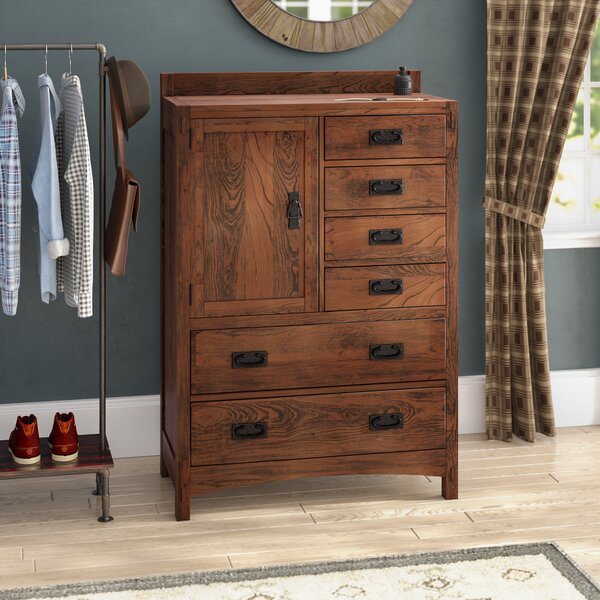 Castro 6 Drawer Gentlemans Chest by Loon Peak