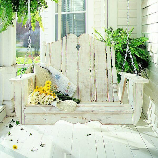 Wyton Porch Swing by Rosecliff Heights