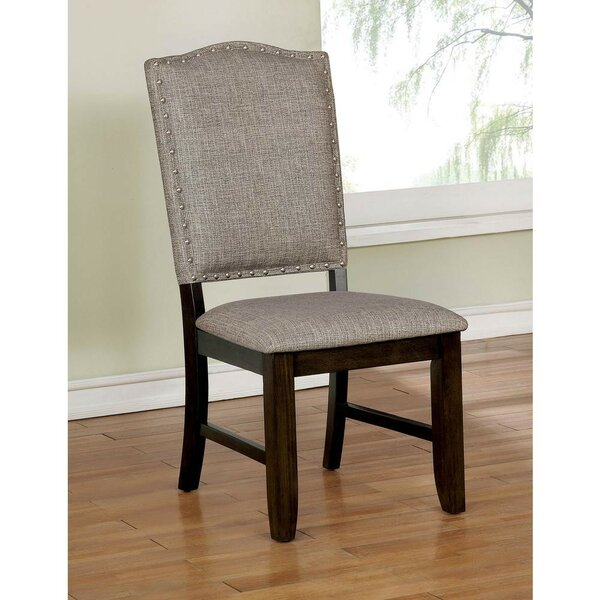 Twanna Upholstered Dining Chair (Set Of 2) By Gracie Oaks