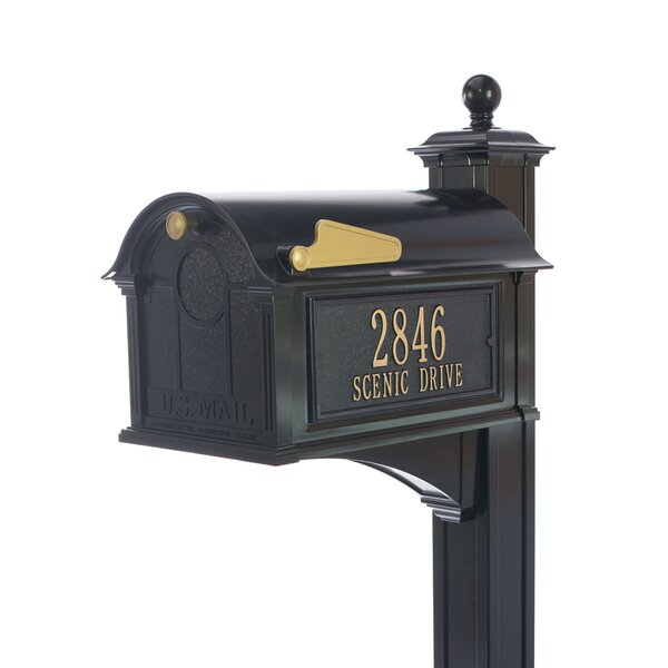 Balmoral Post Mounted Mailbox by Whitehall Products