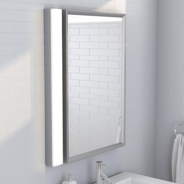 Momsen Solid Glass 1-Light LED Bath Bar by Latitude Run