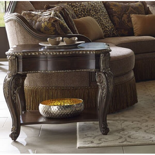 Hepburn End Table with Storage by Astoria Grand