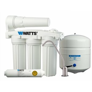 5-Stage Manifold Reverse-Osmosis Filtration System by Watts Premier