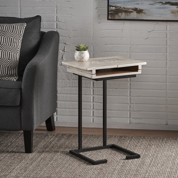 Maddox End Table By 17 Stories