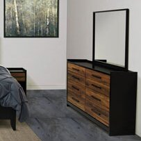 Simich 8 Drawer Double Dresser with Mirror by Trent Austin Design