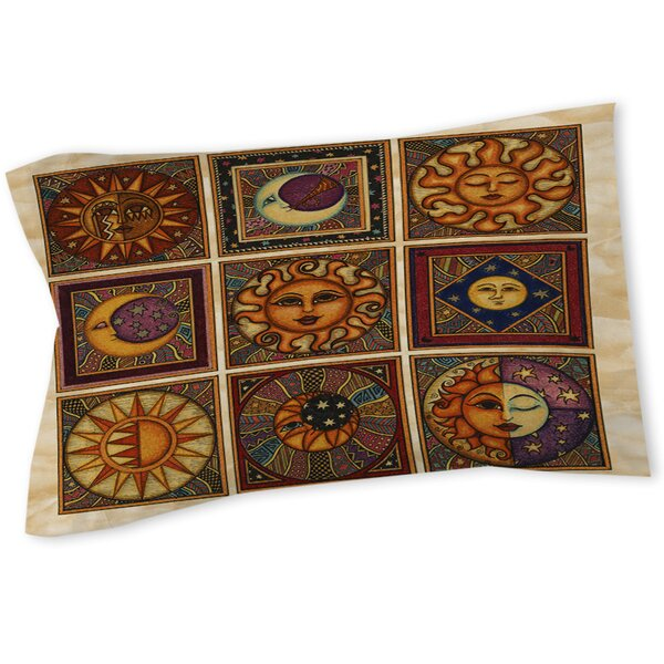 Celestial Squares Sham by Manual Woodworkers & Weavers