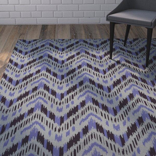 Crisler Iris Striped Area Rug by Wrought Studio
