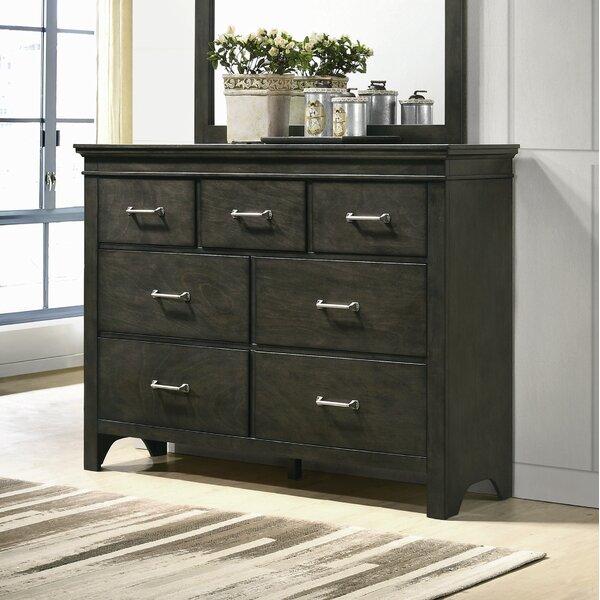 Lenworth 7 Drawer Dresser with Mirror by Red Barrel Studio