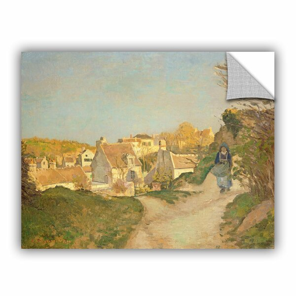 Bridgeman Camille Pissarro The Hill at Jallais, Pontoise, 1875 Wall Mural by ArtWall