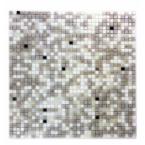 Galaxy Straight 0.25 x 0.25 Glass Square Mosaic Tile